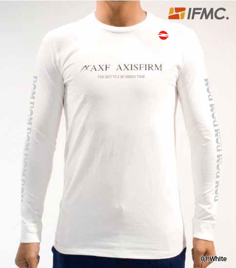 AXF × BOM クルーネック長袖Tシャツ